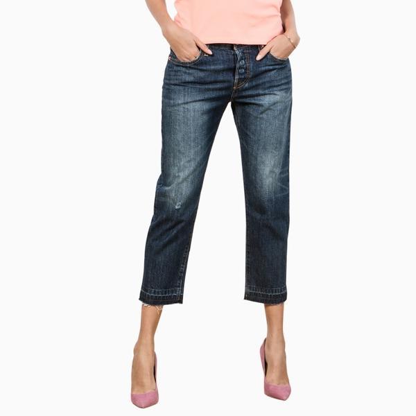 501CT系列女士经典窄脚做旧水洗牛仔裤17804-0033